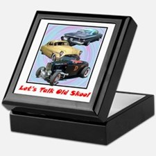 """Let's Talk Old Skool"" Keepsake Box"