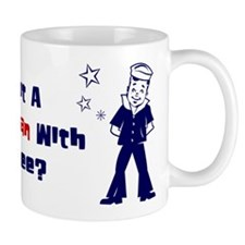 How About a little Seaman? Small Mug