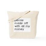 BERNIE MADOFF Tote Bag