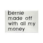 BERNIE MADOFF Rectangle Magnet (10 pack)