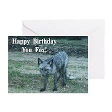 You Fox Birthday Card