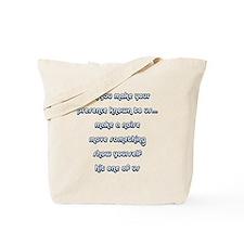 Taps ghost hunters Tote Bag