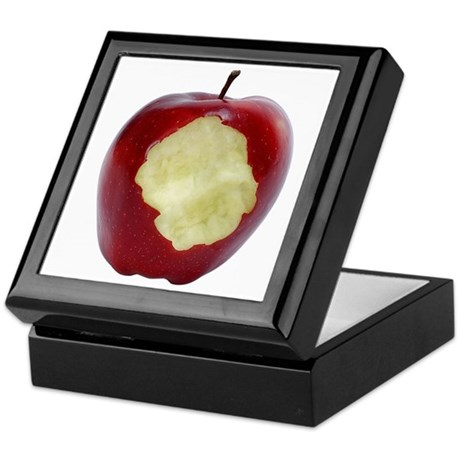 A Red Apple On Your Keepsake Box