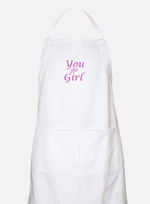 You Go Girl BBQ Apron