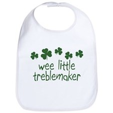 Wee Little Treble Maker Irish Baby Bib
