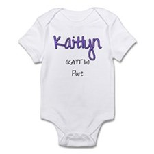 Kaitlyn Infant Bodysuit