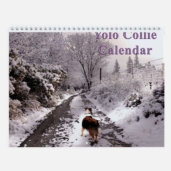 Yolo Collies Calendar -- 2007-2008 happy tails