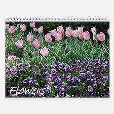 Flowers 5 Wall Calendar