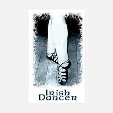 Large Irish Dancer Rectangle Decal