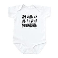 Make a Joyful Noise - Black Onesie