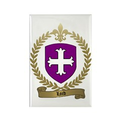 LORD Family Crest Rectangle Magnet (100 pack)