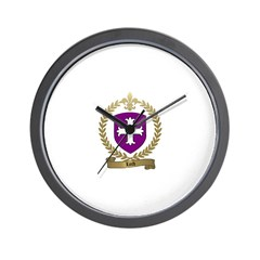 LORD Family Crest Wall Clock
