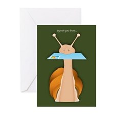 I'm a little slow Greeting Cards (Pk of 10)