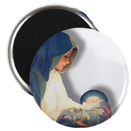 """Mary & Child 2.25"""" Magnet (10 pack)"""