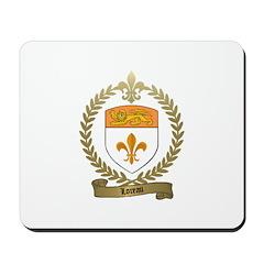 LOREAU Family Crest Mousepad