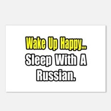 """""""...Sleep With a Russian"""" Postcards (Package of 8)"""