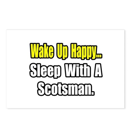 """Sleep With a Scotsman"" Postcards (Package of 8)"