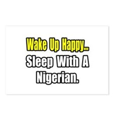 """..Sleep With a Nigerian"" Postcards (Package of 8)"