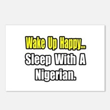 """""""..Sleep With a Nigerian"""" Postcards (Package of 8)"""