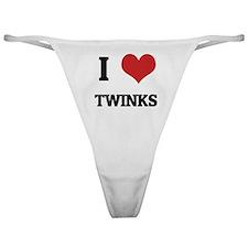 I Love Twinks Classic Thong