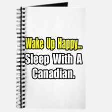 """..Sleep With a Canadian"" Journal"