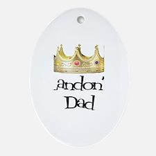 Landon's Dad Oval Ornament
