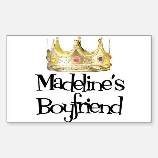 Madeline's Boyfriend Rectangle Decal