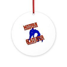 Modern Gladiator Ornament (Round)
