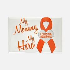 My Mommy My Hero 1 LEUKEMIA Rectangle Magnet