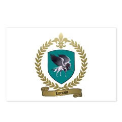 LORRAIN Family Crest Postcards (Package of 8)