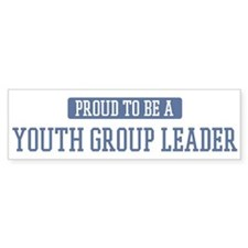 Proud to be a Youth Group Lea Bumper Bumper Sticker