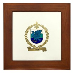 LUCAS Family Crest Framed Tile