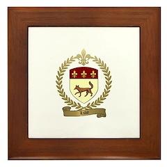 LUVE Family Crest Framed Tile