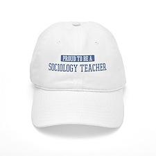 Proud to be a Sociology Teach Baseball Cap