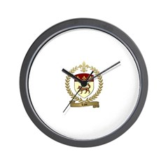 LUVE Family Crest Wall Clock