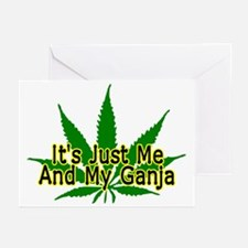 Me And My Ganja Greeting Cards (Pk of 20)