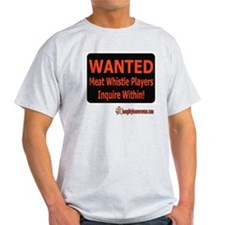 Wanted - Meat Whistle Players T-Shirt