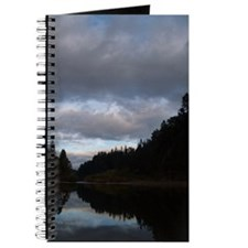Cloudy River and Forest Journal