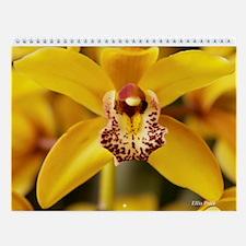 Unique Orchids Wall Calendar