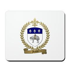 MAHIER Family Crest Mousepad