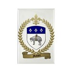 MAHIER Family Crest Rectangle Magnet