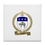 MAHIER Family Crest Tile Coaster