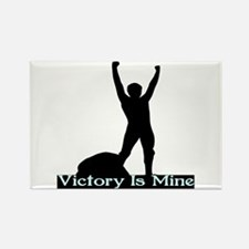 Victory Is Mine Rectangle Magnet