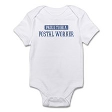 Proud to be a Postal Worker Infant Bodysuit