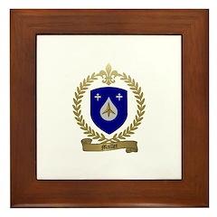 MAILLET Family Crest Framed Tile