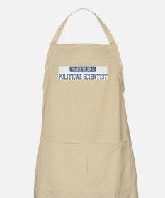 Proud to be a Political Scien BBQ Apron