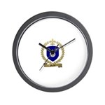 MAILLET Family Crest Wall Clock