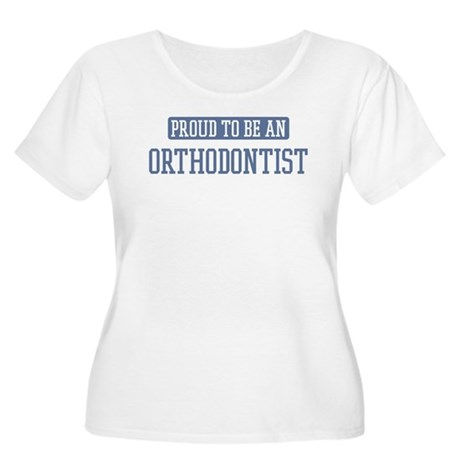 Proud to be a Orthodontist Women's Plus Size Scoop