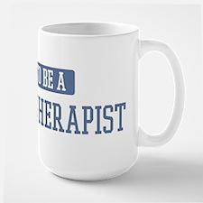 Proud to be a Massage Therapi Large Mug