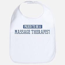 Proud to be a Massage Therapi Bib